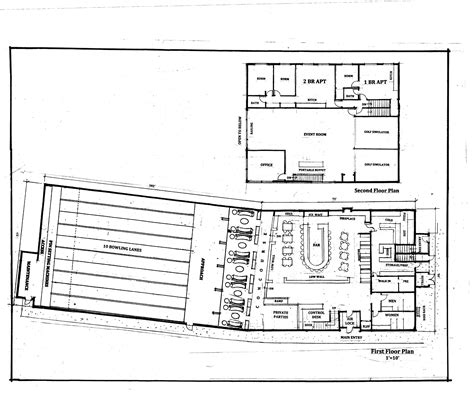 bowling alley floor plans oak bluffs bowling alley plan draws lively debate the