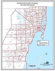 Miami Dade Map by Miami Dade Zip Code Map Miami Real Estate Maps And