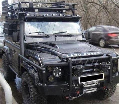 range rover modified beautiful russian modified puma defender 90 jbk land