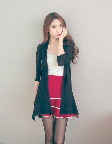 Cardigan Korea mayuki womens asymmetrical cardigan japanese korean fashion ebay