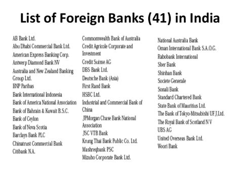 list of banks banking theory