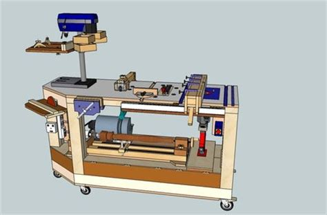 homemade tool bench 6 in 1 multi power tool work bench by steliart