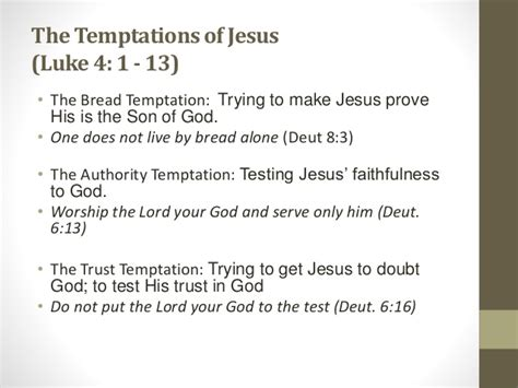Trust Temptation jesus comes among us and undergoes baptism temptations 2014 2015 pr