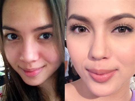 Diy Beautiful 24 pinay celebrities without make up but still look