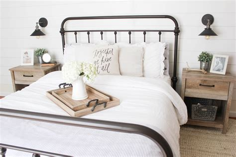 home farmhouse master bedroom mcbride