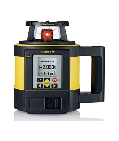 leica rugby 870 single grade laser tiger supplies
