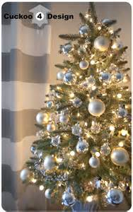 Ideas For Home Decorating Themes My Christmas Tree 2012 And Tour Cuckoo4design
