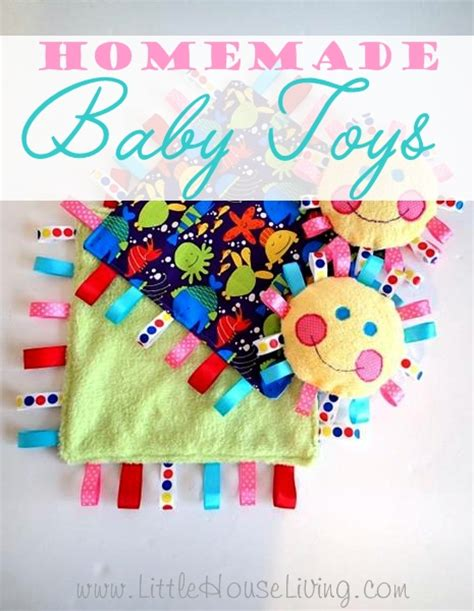Handmade Baby Items That Sell - baby toys house living