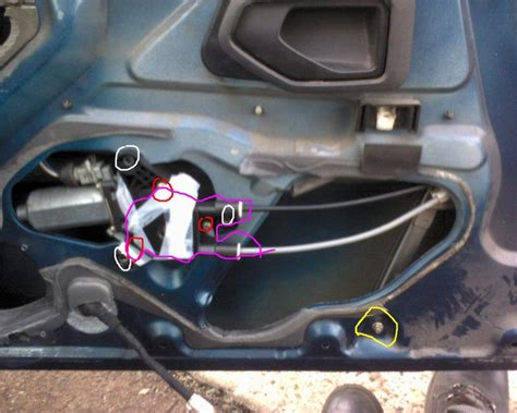 comment redresser une porte de voiture comment bloquer une vitre de voiture qui descend voitures