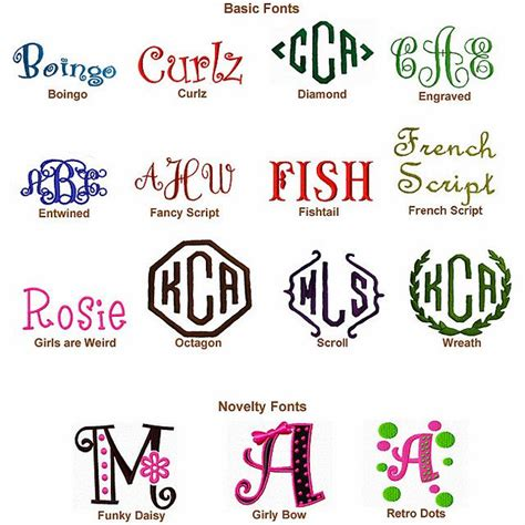 25 Best Ideas About Monogram Fonts Free On Pinterest Best Fonts For Initials