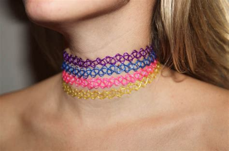 choker tattoo itemized vintage choker necklace the fader