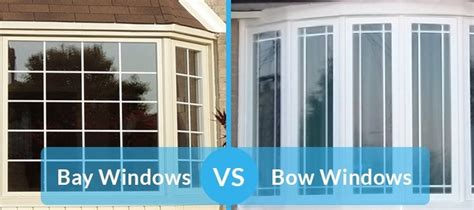 bay window vs bow window the difference between bow windows and bay windows