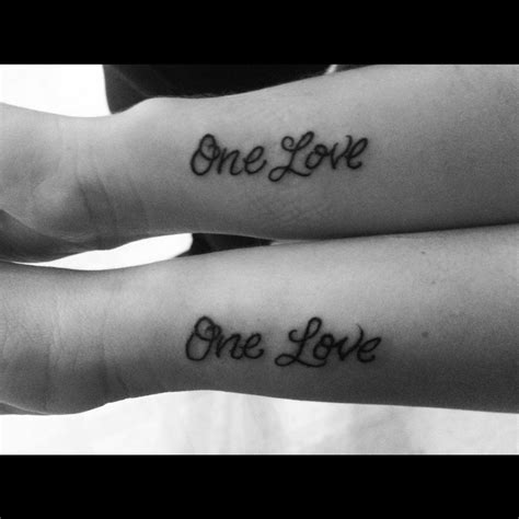 bf and gf tattoos matching with my
