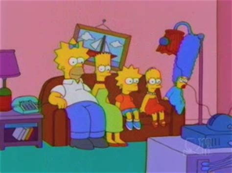 the simpsons couch gags inverted hair couch gag simpsons wiki