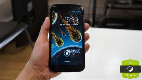 test du wiko darkmoon sur android frandroid test du wiko darkside une phablette low cost frandroid