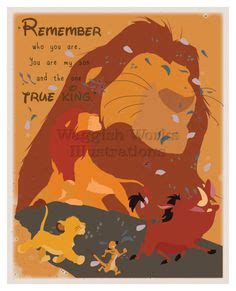 items similar to king minimalist poster disney 1000 images about the king on the