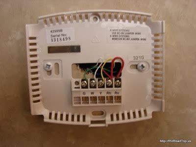 rv digital thermostat installation / coleman and suburban