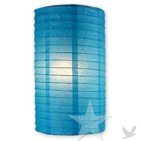 How To Make Cylinder Paper Lanterns - cylinder paper lanterns turquoise lc8tu