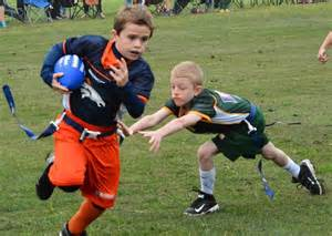 Flag Football Catch Me If You Can It S All In Finding The Right Words
