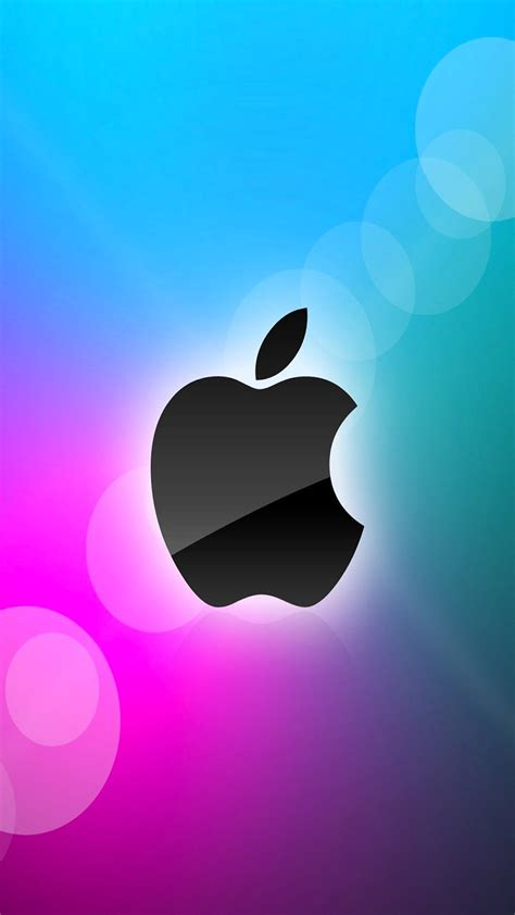 wallpaper apple mobile apple mobile colorful logo free download iphone wallpapers