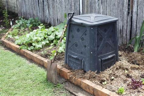 backyard composting bin setting up a compost bin for your organic garden