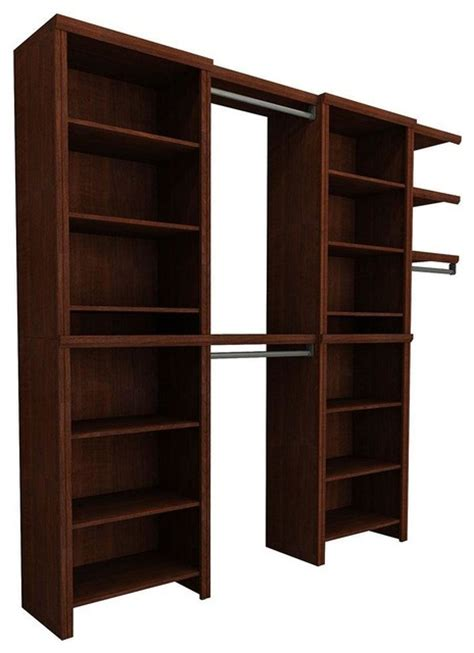 Homedepot Closet Organizers by Closetmaid Closet Organization Impressions 72 In Cherry Entry Closet