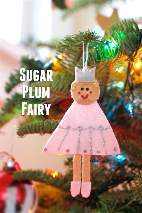 sugar plum decorations diy felt nutcracker ornaments make and takes