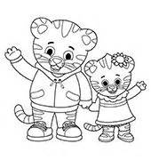 daniel tiger coloring daniel tiger s neighborhood coloring pages coloring pages