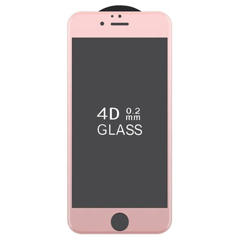 Tempred Glass 4d Iphone6plus iphone 6 plus 6s plus 4d size 0 22mm tempered glass screen protector gold