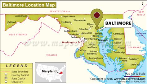 map usa baltimore where is baltimore maryland where is baltimore located