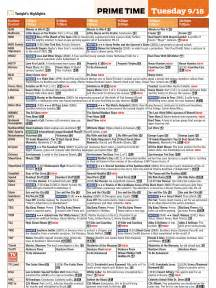 Tv Schedule Opinions On Tv Guide