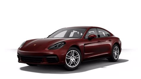 burgundy porsche 2017 2018 porsche panamera exterior paint color options