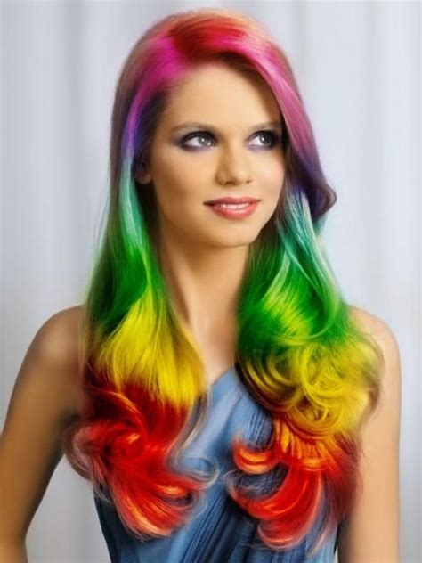 rainbow hair color pictures rainbow hair pictures photos and images for