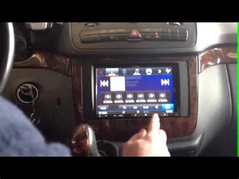 cómo instalar radio monitor navegador en mercedes viano