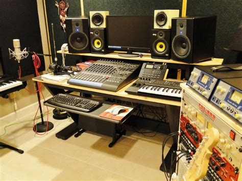 Diy Recording Desk 58 Best Diy Recording Studio Projects Images On Studios Recording Studio And