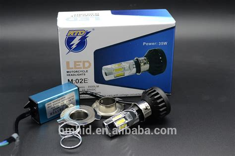Lu Motor Led Rtd 2015 newest rtd six leds lights motor light motorcycle led headlight led motorcycle headlight h4