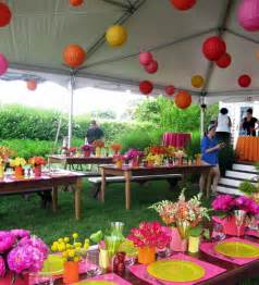 gartenfest dekoration decor ideas for garden