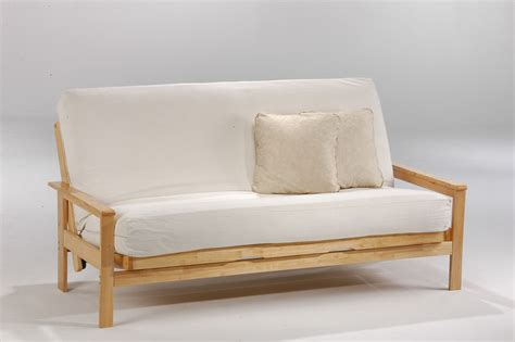 wood frame futon with mattress futons stones kenmore mattressstones kenmore mattress
