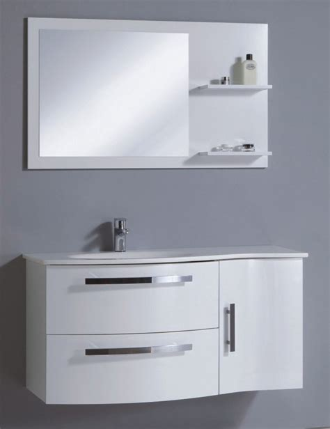 Wall Mounted Bathroom Cabinet China Wall Mounted Pvc Bathroom Cabinet In High Gloss White Color China Bathroom Cabinet