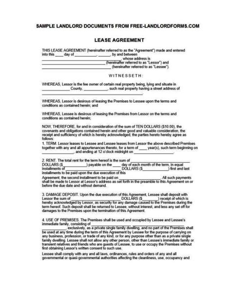 land rental contract template land rental contract template sletemplatess