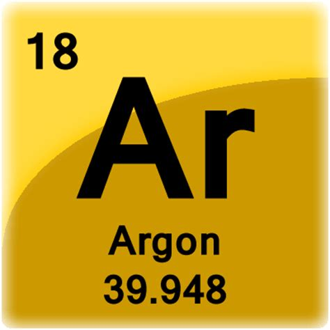 What Is Ar On The Periodic Table by Argon Facts