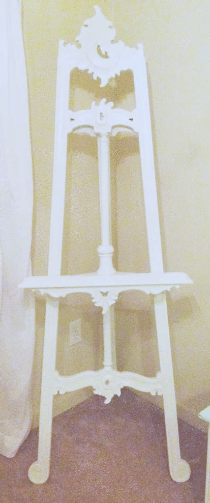 not so shabby shabby chic my beautiful easel