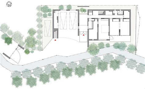 Floorplan Design nrm architects office residence in kurakuen