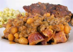 ground beef baked bean casserole plain chicken