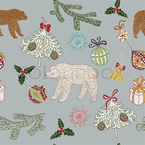 christmas patterns retro christmas and new year festive blue background xmas retro