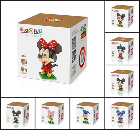 Loz Nano Block Disney Mickey Mouse nano block building blocks sets mini blocks toys gift