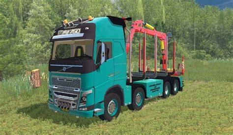 2015 volvo truck volvo forest truck mod for farming simulator 2015