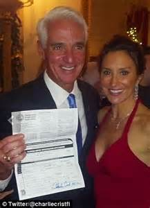 former florida republican governor charlie crist running
