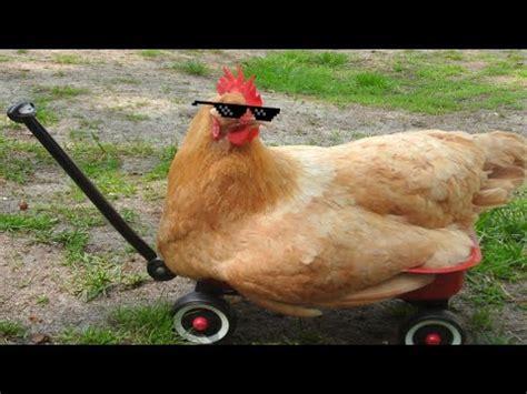 Chicken Running Meme - chicken run mlg youtube