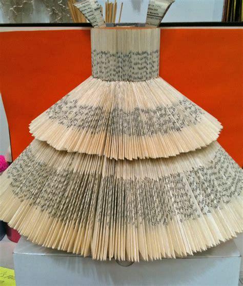 Folded Paper Dress - bonjour teaspoon april 2012
